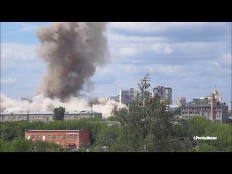 Иваново, снос Элеватора Мукомольный комбинат, 05 08 2018