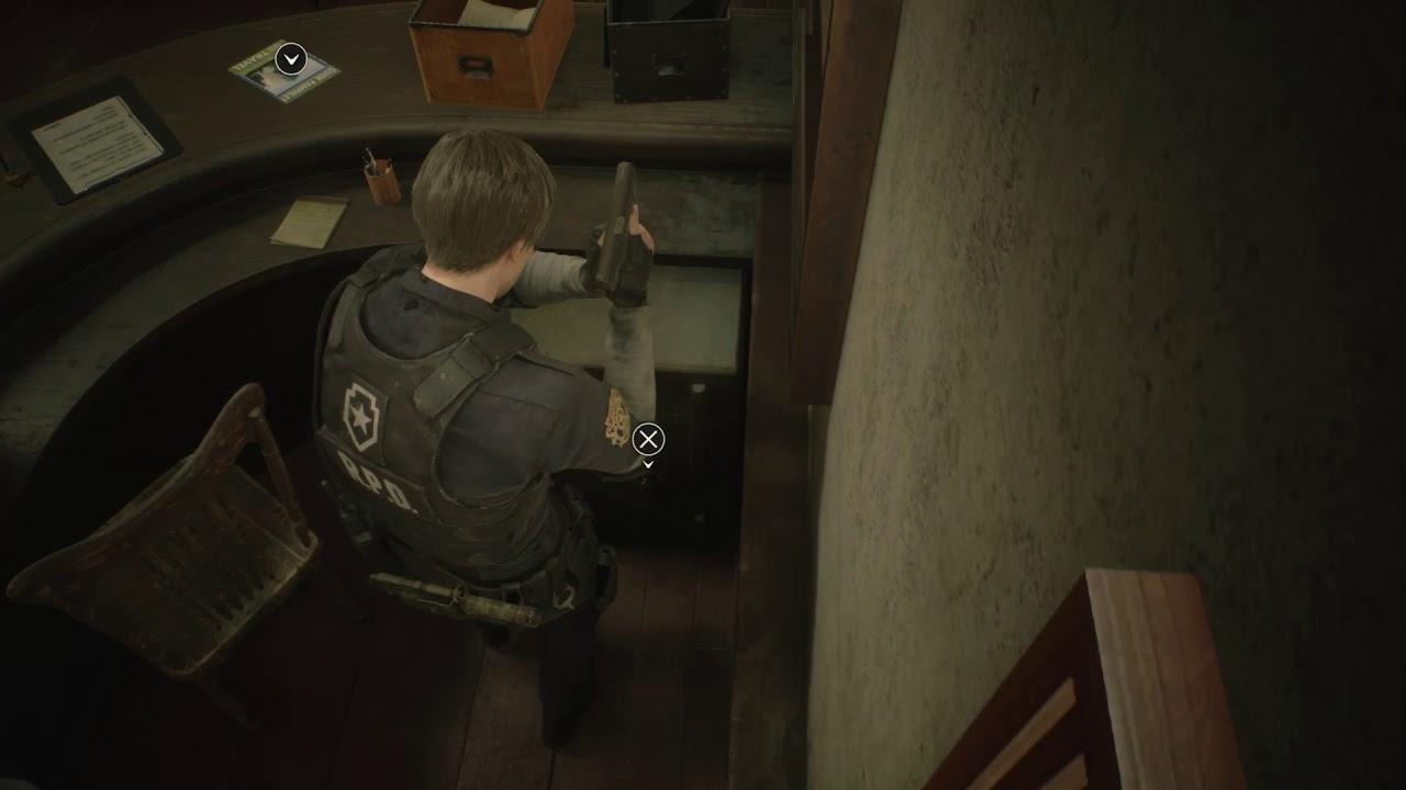 Resident Evil 2 Remake Tresor Code
