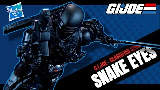 Hasbro G.i.joe Classified Series Snake Eyes Figure | Video Review