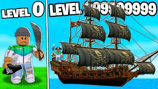 I BUILT A LEVEL 999,999,999 ROBLOX PIRATE TYCOON