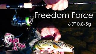 Мастер Класс от Романа Митюрича и обзор Спиннинга Crazy Fish Freedom Force.