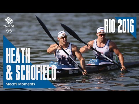 Rio 2016 Medal Moments: Liam Heath & Jon Schofield - Silver | Canoe Sprint