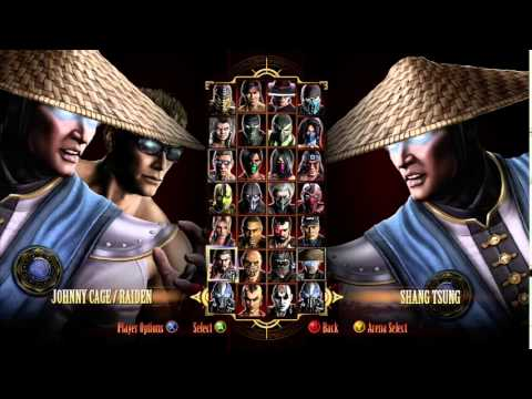 Mortal Kombat 9: 4 Player Gameplay