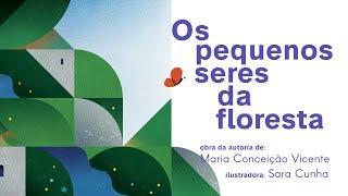 capa de Os Pequenos Seres da Floresta de Maria da Conceição Vicente