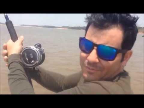 Pescaria Rio Araguaia - Luiz Alves - GO - peixe Piraíba 180 mts 60 kg - outubro