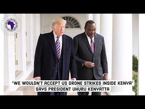 Kenya's President Uhuru Kenyatta States He Will Not Permit USA To Utilize Kenya For Drone Strikes thumbnail