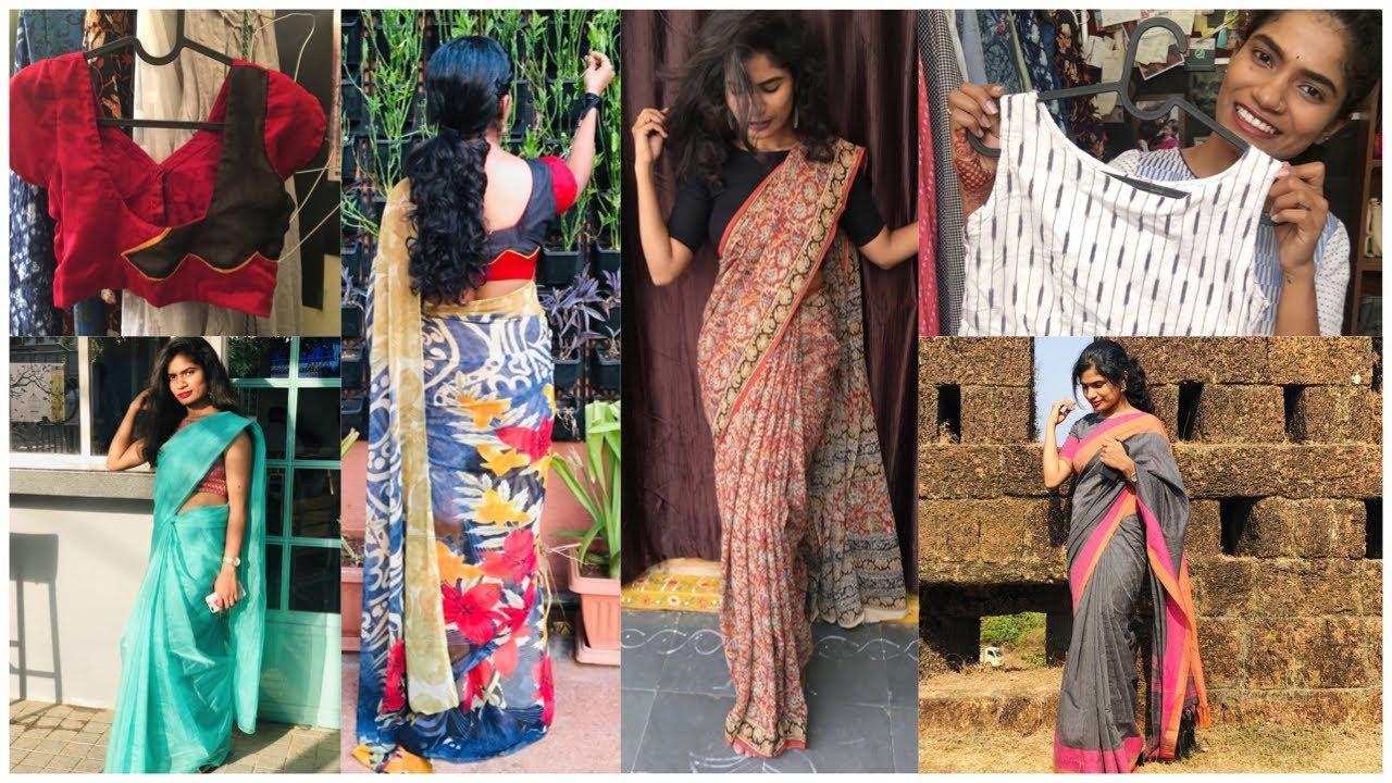 Daily Wear Blouses Ideas | Multipurpose  Everyday Cotton బ్లౌసెస్ Ideas | nayalooks | Navya Varma