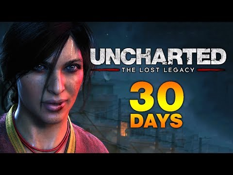 The Countdown Begins   Uncharted The Lost Legacy - 30 Days