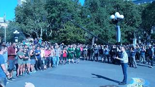 The Amazing Race Season 30 NYC Starting Line