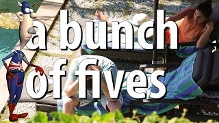 The British English Expression - A Bunch of Fives