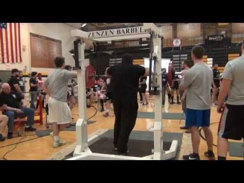 2015 APF AAPF Illinois Day 2 Full Power Squat Platform 1