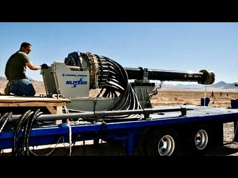 U.S. Military's Most Powerful Cannon - Electromagnetic Railgun - Shoots 100 miles - Mach 7