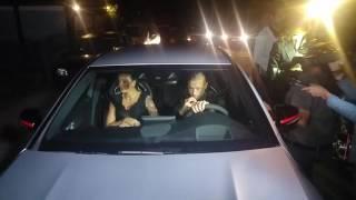 L'arrivo di Nainggolan alla festa di Totti