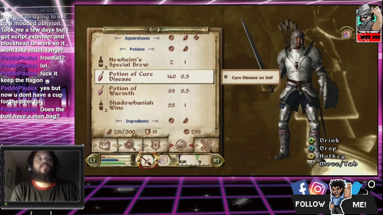 TIHYDP Fighter's Guild Mission: The Elder Scrolls IV: Oblivion [12 Hour  Stream] (Part 5)
