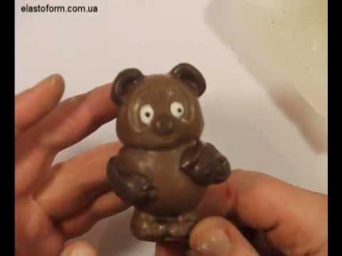 Изготовление силиконовой формы для литья шоколада