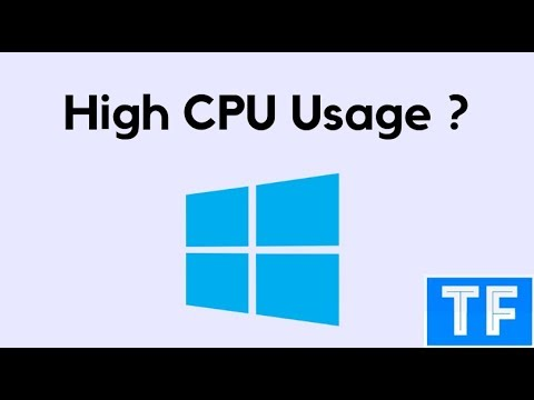 High CPU Usage Windows 10 / 8 / 7 | [Works 100%]