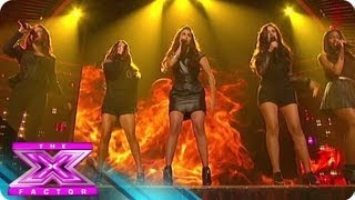 "Fifth Harmony's ""Stronger"" - THE X FACTOR USA 2012"