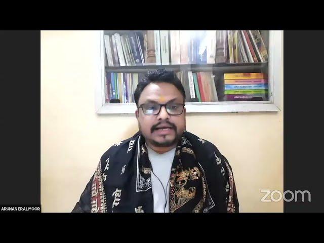 #20 വാല്മീകി രാമായണ സ്വാദ്ധ്യായം - നമോ ധർമ്മായ - Shri Arunan Iraliyoor