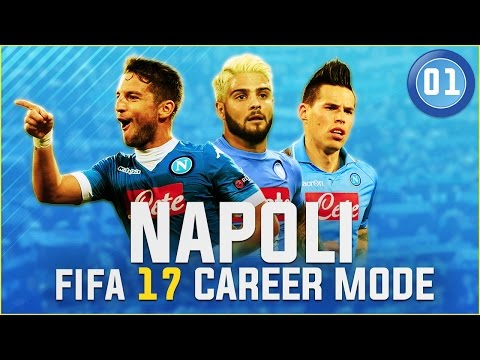 [NEW SERIES] FIFA 17 Napoli Career Mode Ep1 - FORZA AZZURRI! FORZA NAPOLI!!
