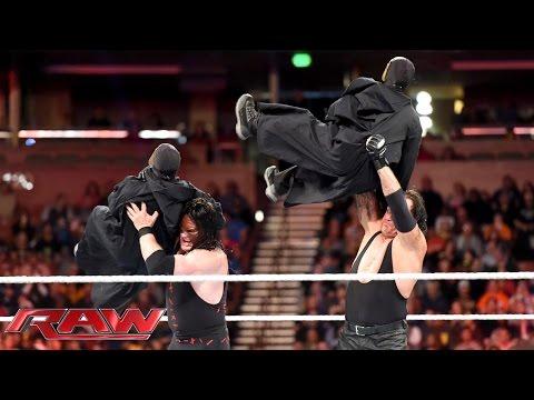 "The Brothers of Destruction battle Bray Wyatt's ""flock"": Raw, November 16, 2015"