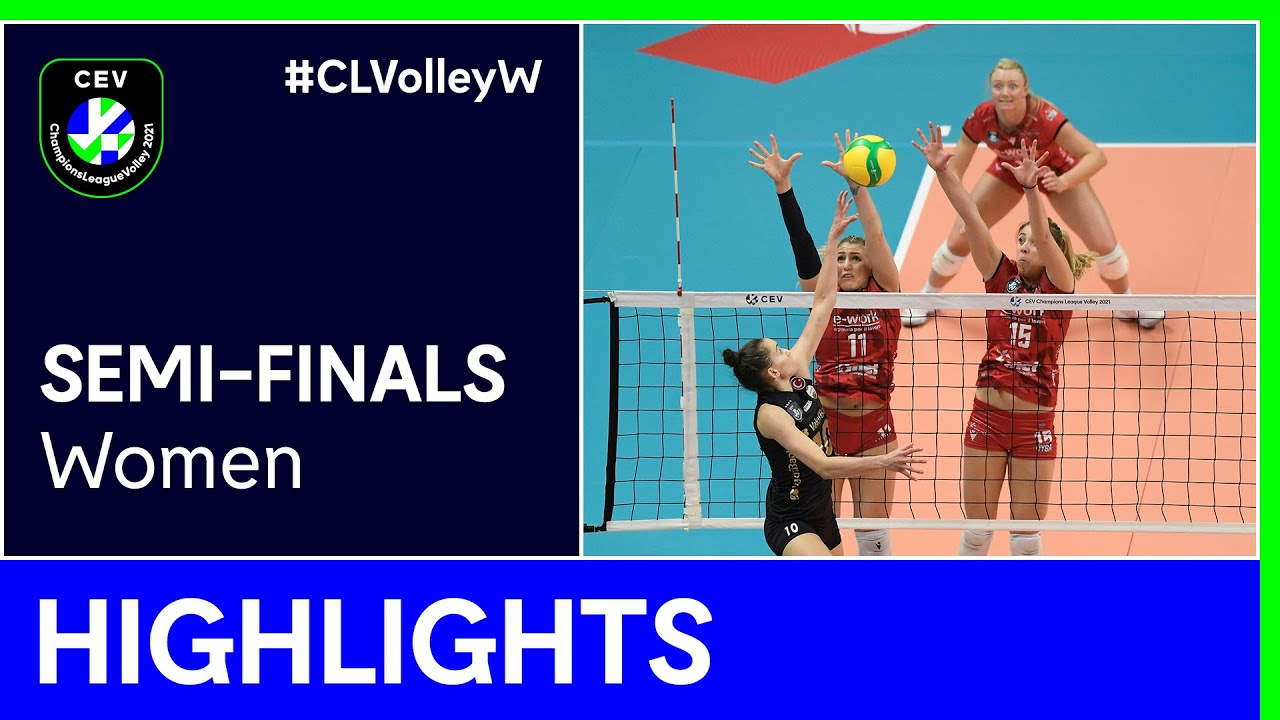 Unet e-work BUSTO ARSIZIO vs. VakifBank ISTANBUL Highlights - #CLVolleyW
