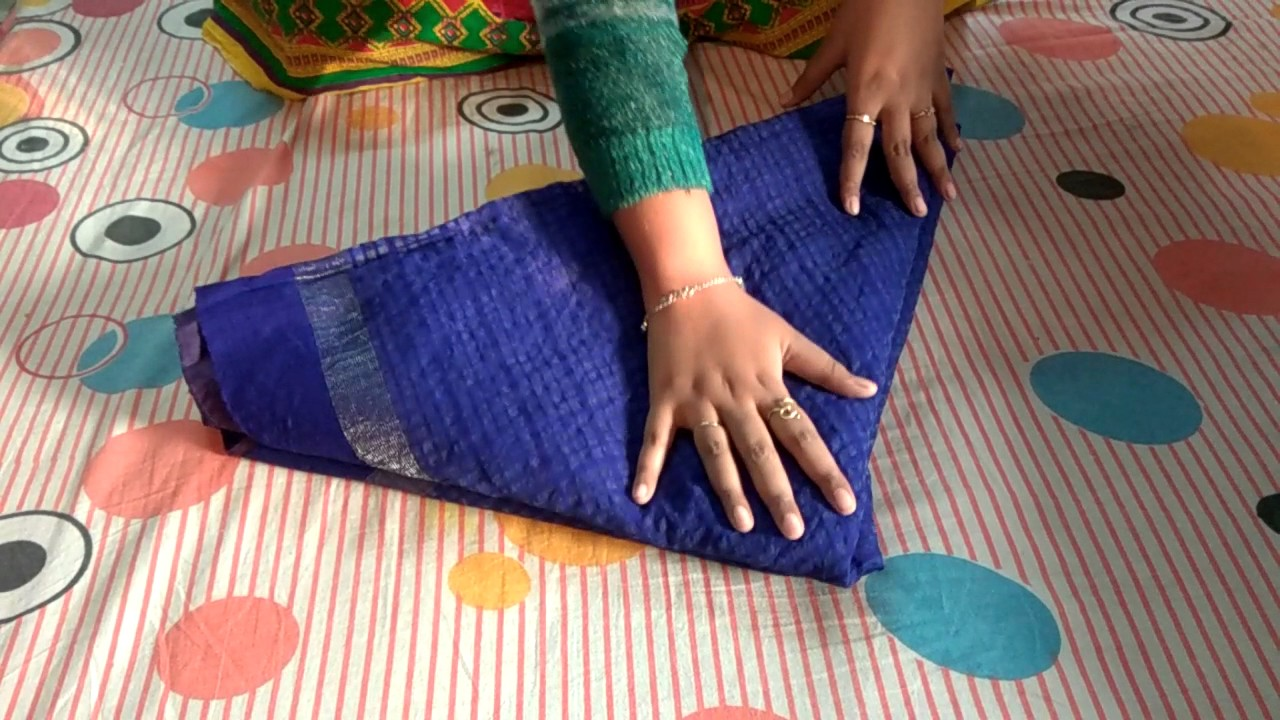 How To Make Fish Using A Saree Wedding Tray Decoration Youtube