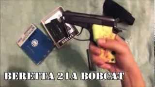 Beretta 21A Bobcat .22lr Review