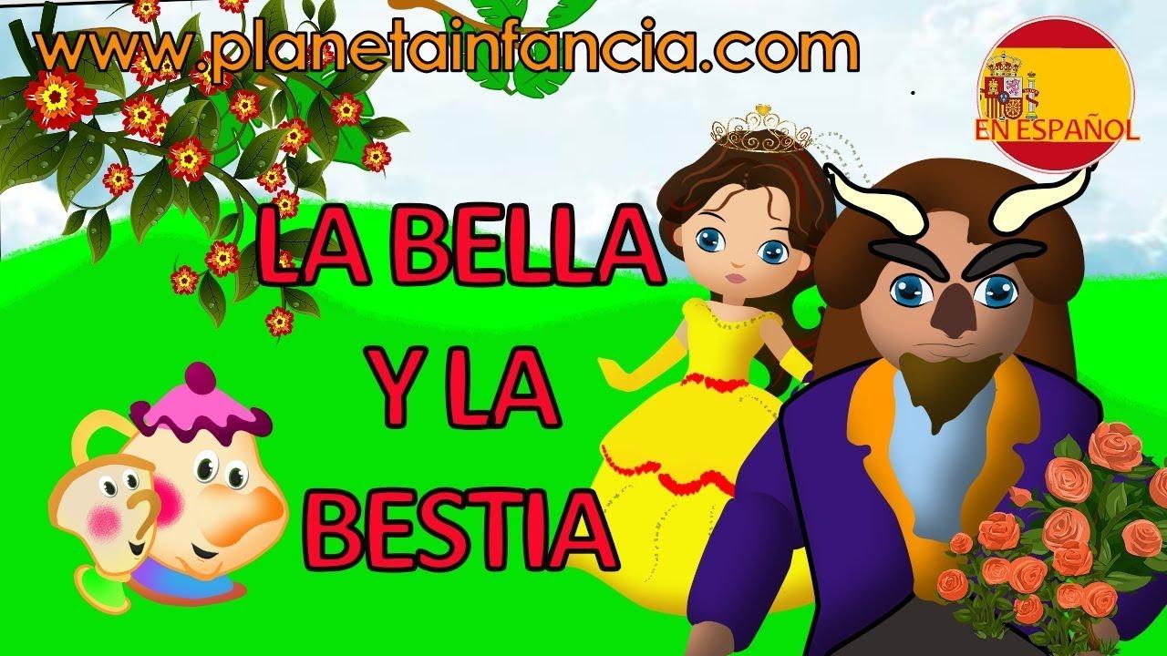 La bella y la bestia cuentos infantiles en espa ol - Para ninos infantiles ...
