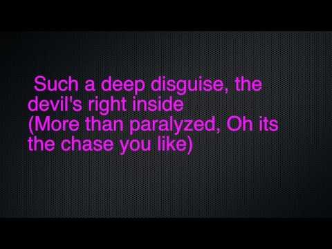 Angel Eyes- New Years Day ft. Chris Motionless lyric video
