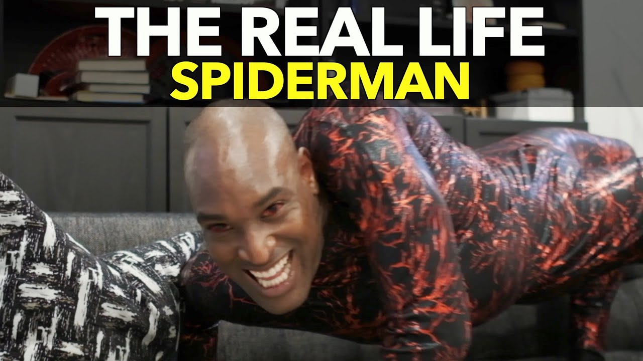 The Real Life Spiderman