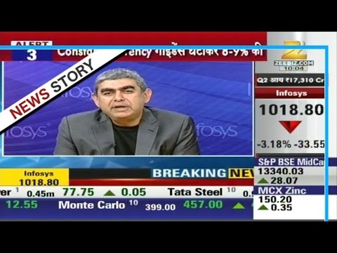 Feel satisfied with the results of Infosys : Vishal Sikka