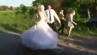 Приколы на свадьбе 2016 год +18. Fun at the wedding 2016.