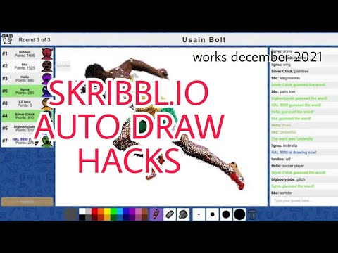 Skribbl.io AUTO-DRAW BOT Hack! L Works 2020!
