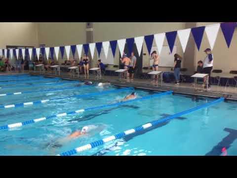 Liam A - 100 Breast - Illinois Quad Meet 2017