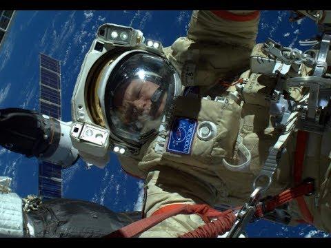 Выход космонавтов Олега Кононенко и Сергея Прокопьева в открытый космос. Прямая трансляция