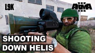 SHOOTING DOWN HELIS EP 3 - Arma 3 King of the Hill