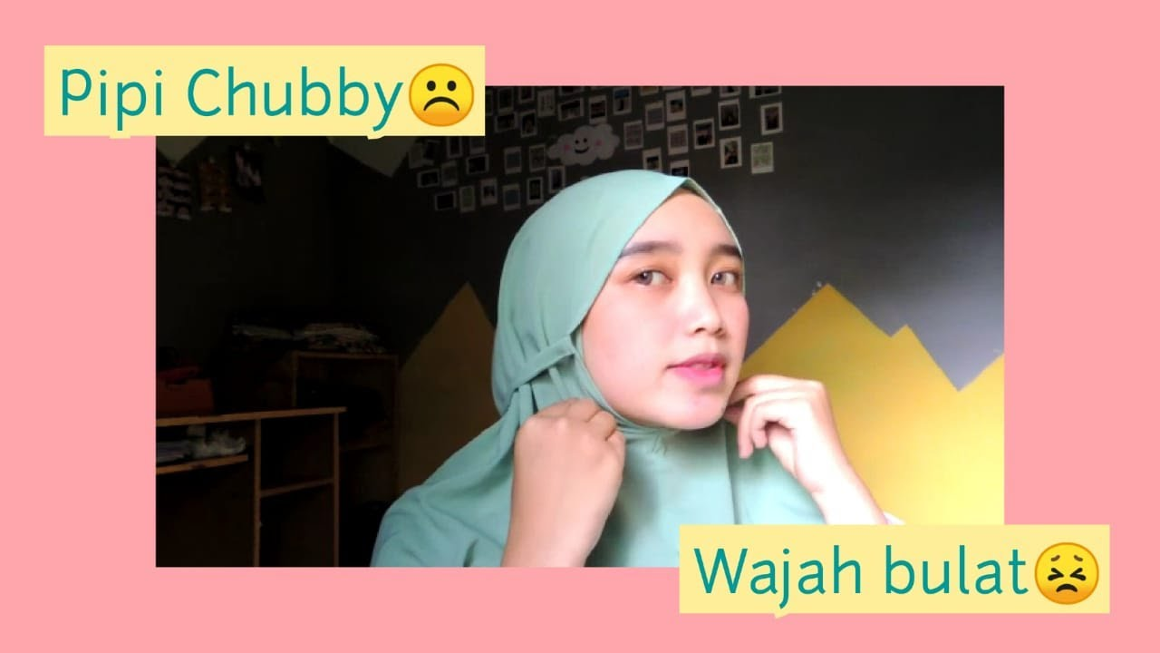 Tips Pakai Hijab Bergo Khusus Untuk Wajah Bulat Tips Trick Youtube