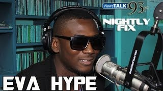 Eva Hype explains Island Pop music + finding himself in music on Nightly Fix NewsTalk93FM