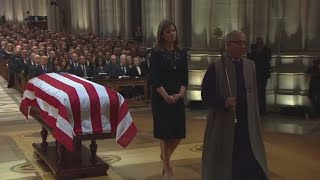 George H.W. Bush funeral: Jenna Bush Hager remembers her grandfather