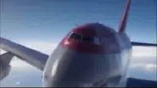 【衝撃】 航空機からの遭難信号その57 ノースウェスト航空85便緊急着陸事故