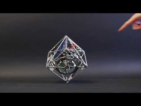 Thumbnail: The Cubli: a cube that can jump up, balance, and 'walk'