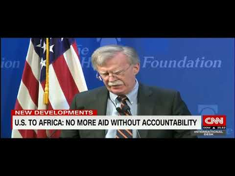 CNN International Covers Amb. John Bolton's Address to Heritage