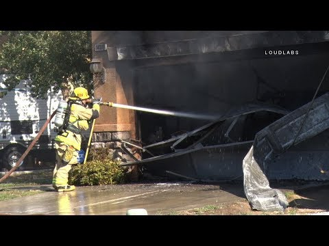 House Fire / Victorville   RAW FOOTAGE