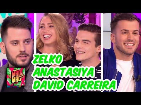 Nouveauté - Le Mad Mag du 22/02/2017 avec Zelko, Anastasiya et David Carreira