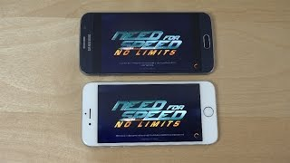 Need For Speed No Limits Samsung Galaxy S6 vs. iPhone 6 Gameplay - Which Is Better?