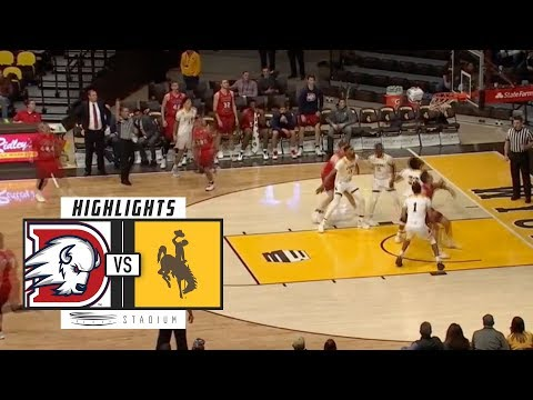 Dixie State vs. Wyoming Basketball Highlights (2018-19) | Stadium