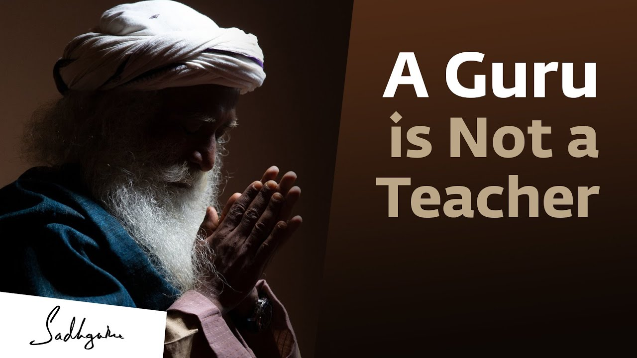 The Difference Between a Guru and a Teacher