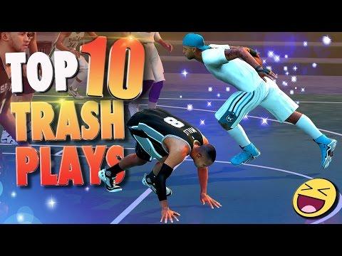 "NBA 2K16 TOP 10 ""TRASH"" PLAYERS & PLAYS Of The Week!"