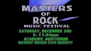 Master Of Rock '89 TV Ad from KBSI