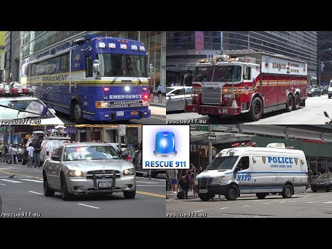 MAJOR INCIDENT 10-60 @ Times Square on May 18th 2017